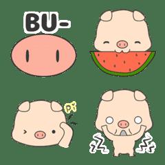 Butanobu-ta Summer Emoji