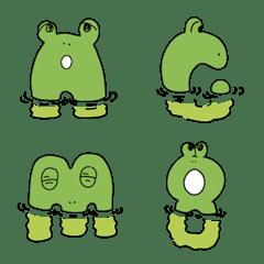 frog font