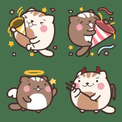 Dango cat 糰子貓表情貼