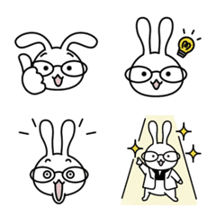 White-rabbit Emoji