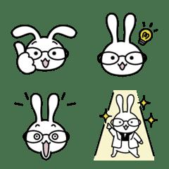 อิโมจิไลน์ White-rabbit Emoji