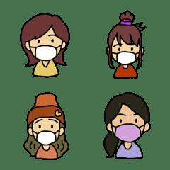 4girls emoji