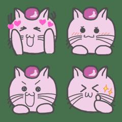 nekomame series sakuraneko emoji