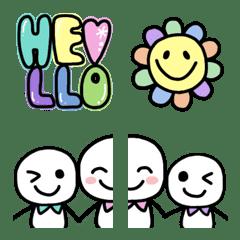 Easy to use round emoji 3