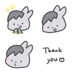 Ai Usagi Angel Emoji Loose & Cute ver.