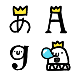 Pictograph of King