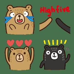 熊比 表情貼