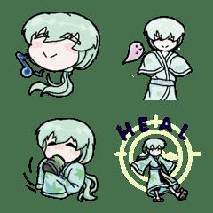 อิโมจิไลน์ Akihiko (Mr Healer`s Expressions)