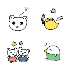 อิโมจิไลน์ yonmoji's Emoji