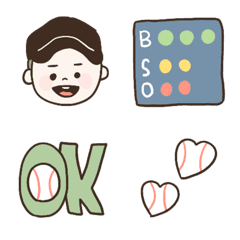 baseball club emogi
