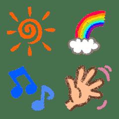 อิโมจิไลน์ Easy to use Emoji !!