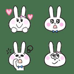 Rabbit daily emoji part1