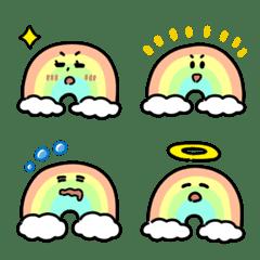 Cute Rainbow Emoji