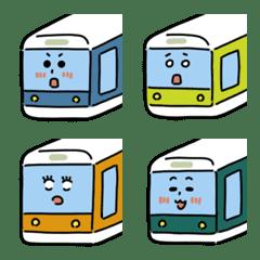 Electric train Emoji