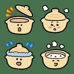 Earthenware pot Emoji