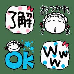 Easy to use Kururibbon Emoji