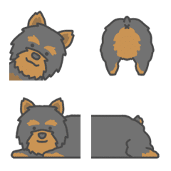 Yorkshire Terrier from DLB-EMOJI-