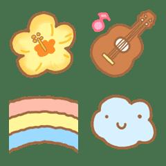 Hawaiian emoji