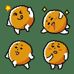 Cute meatball Emoji