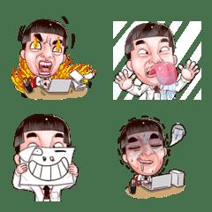 Emoji, I am a funny Ver.Office worker