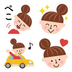 odango girl Emoji