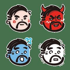 Emoji of Oji-san repackage ver.