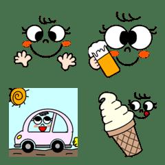 A warm,warm emoji