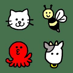 simple animals emoji