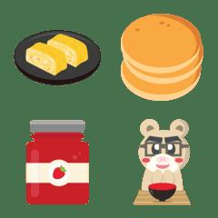 東方和西方早餐