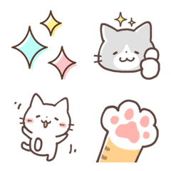 Many kinds of cats Emoji2