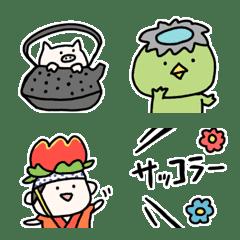 Little pig and me    Iwate Emoji