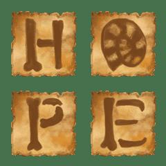 Fossil Font Emoji