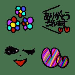 FujikoHouse Emoji kireijyoshi2