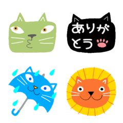 Juns Colorful cats
