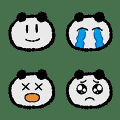 """YURUI""Panda Emoji"