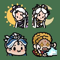 อิโมจิไลน์ Pili Hero Emoji