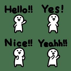 Loose english Emoji