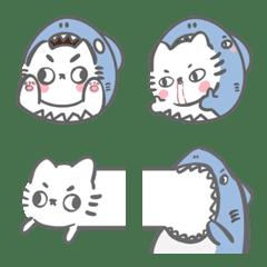 鯊貓貓ㄉ表情貼