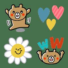 My favorite cub bear emojis.