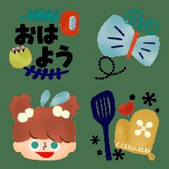 Emoji like a picture book 5