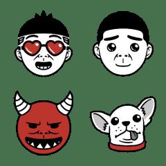 อิโมจิไลน์ Duncan's Emoji