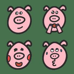 普洱小豬 日常表情貼