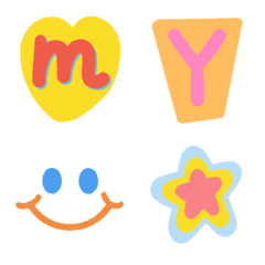 alphabet emoji :-)