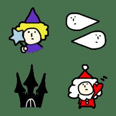 HELLOWEEN and Xmas Emoji
