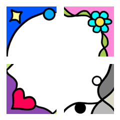 Design frame Emoji 5