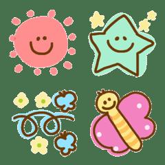 อิโมจิไลน์ accent cute emoji