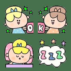 อิโมจิไลน์ Various emoji 793 adult cute simple