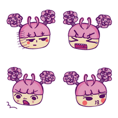 Little Afro-Emoji
