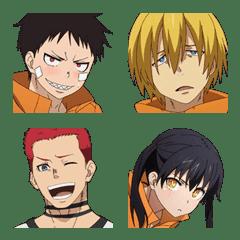 """อิโมจิไลน์ """"ENN ENN NO SHOUBOUTAI"""" Emoji Vol.2"""