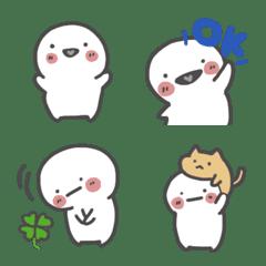 อิโมจิไลน์ Shiromarumaru Emoji